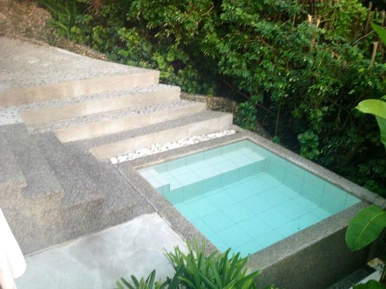 Buri Resort and Spa: Buri Villa plunge pool