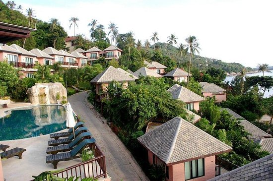 Merit Wellness & Mind Retreat Resort Samui: view from the restuarant