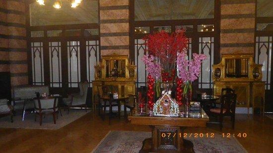 Pera Palace Hotel, Jumeirah: restaraunt