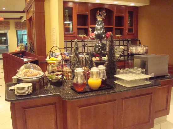 Hilton Garden Inn Laramie: Dining area