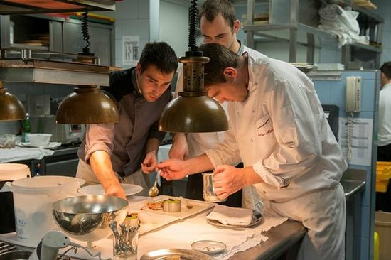 Castel Fragsburg: Küchenteam
