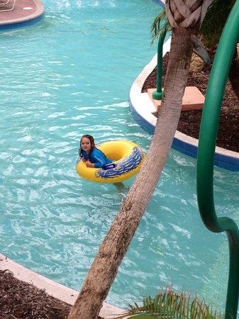 Hammock Beach Resort: Lazy river is NOT heated!
