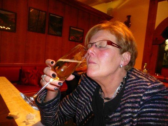 Hotel-Restaurant Hubertus: lekkere Sect