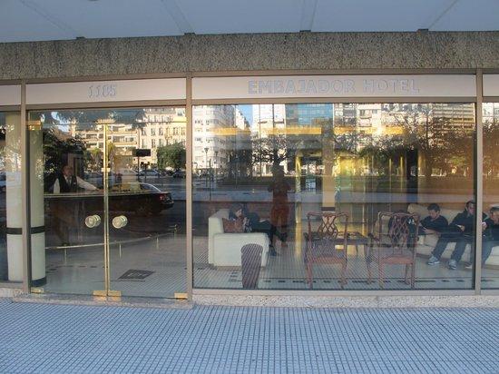 Embajador Hotel: Fachada Hotel Embajador