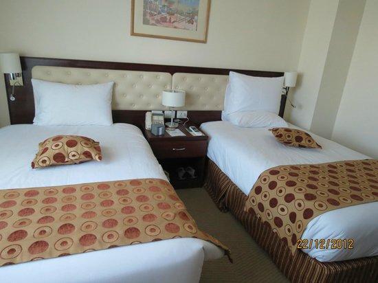 Larsa Hotel : habitacion twin confortable