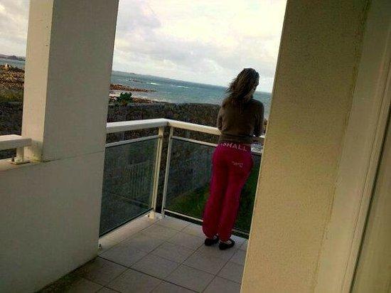 Résidence Odalys Domaine des Roches Jaunes : la vue du balcon