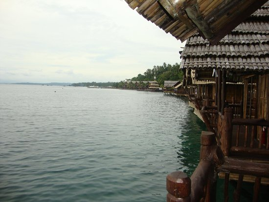 Pearl Farm Beach Resort: View from Samal House 19