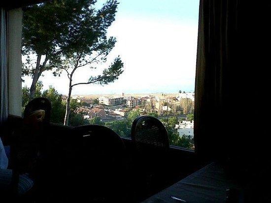 Gran Hotel Rey Don Jaime: Vistas des del comedor