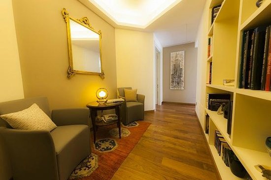 B&B Bronzino House: Reading and relaxing area