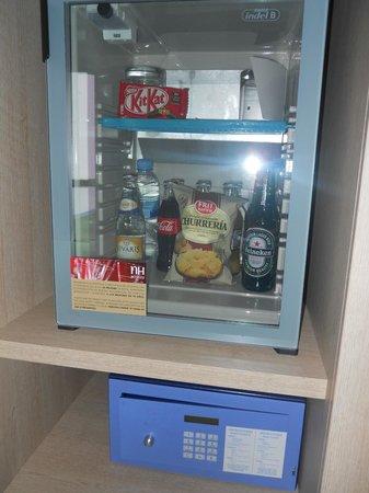 NH Madrid Principe de Vergara: minibar gratis con la oferta weekend extender.