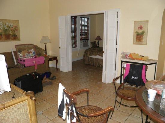 Douglas House: Visuale dalla cucina