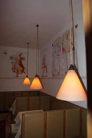 Hotel Tre Cime: sitting area