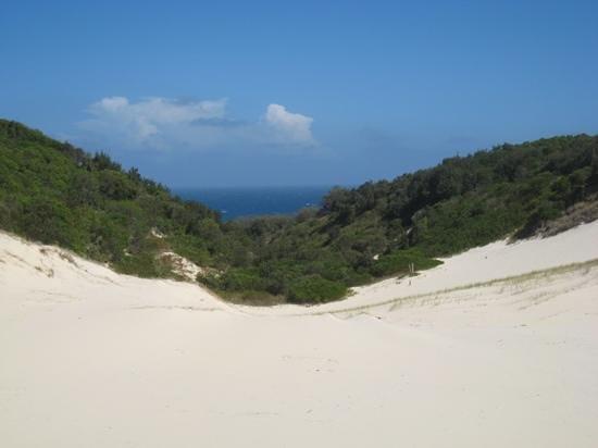 Straddie Adventures: sand boarding