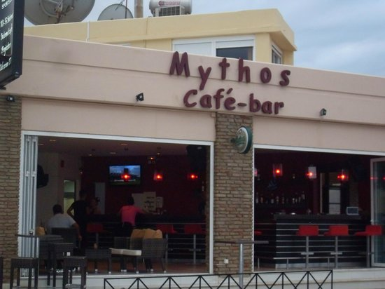 Hotel Mythos Beach: Il bar del Mysthos beach