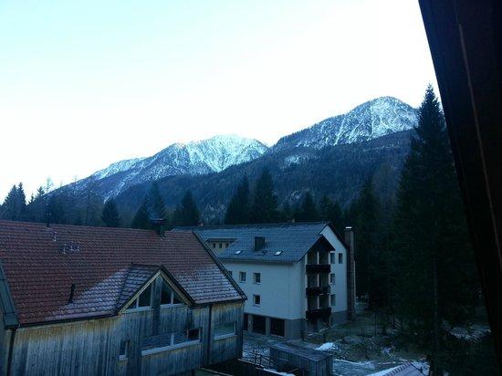 Apartmaji Jezerci: Vista dal balcone
