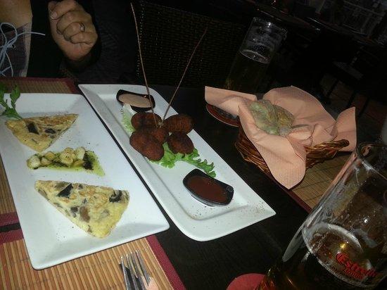 Dabda Wine Bar Tapas y Restaurant : Selection of Tapas
