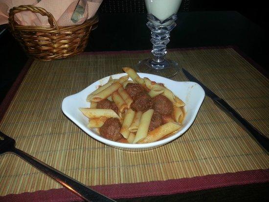 Dabda Wine Bar Tapas y Restaurant : Child's meal