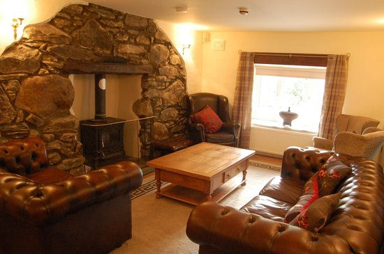 Yr Hafod Country House: Lounge Area