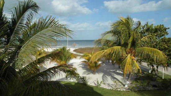 Hotel Puerto Holbox: vista desde el hotel