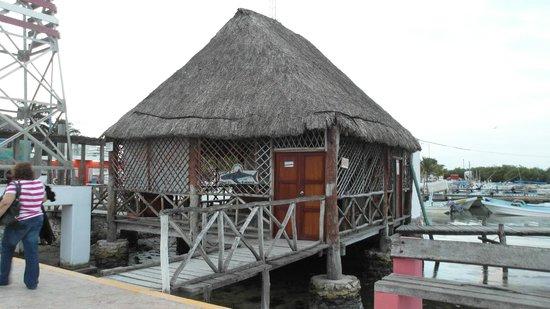 Hotel Puerto Holbox: Donde consigues la lancha