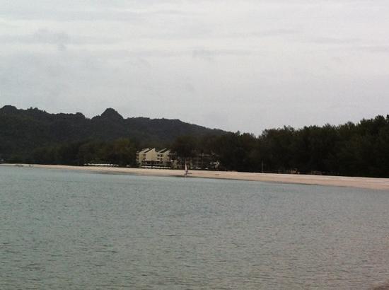 Tanjung Rhu Resort: privé strand van het resort