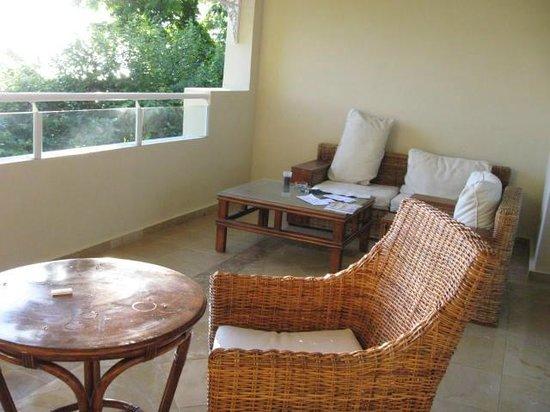Grand Bahia Principe Cayacoa: Une partie du balcon