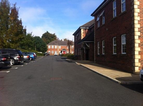 The Avenue Hotel at Brockhall : entrance