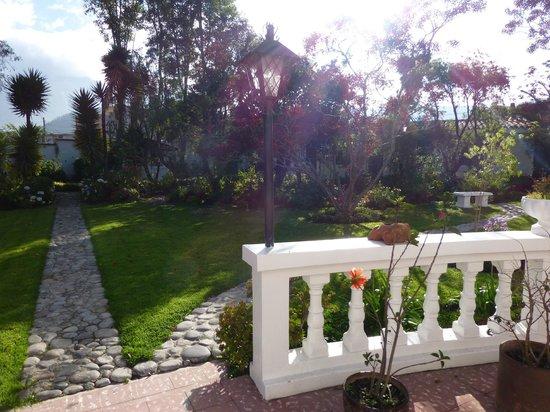 La Posada del Quinde: Courtyard