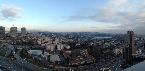 Point Hotel Barbaros: Panorama