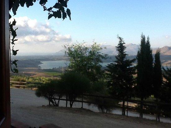 Grisi, Italie : panorama dall'appartamento....