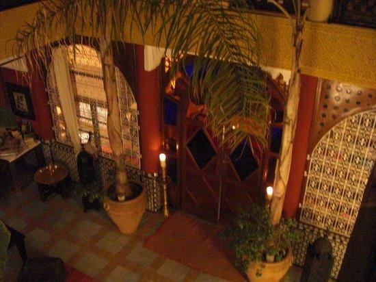 Riad Eden: Porte de la salle à manger 