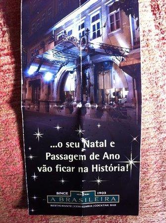 A Brasileira: Folheto que fará história!
