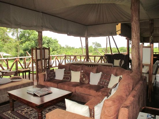 Neptune Mara Rianta Luxury Camp: A great place to relax after a day of game drives