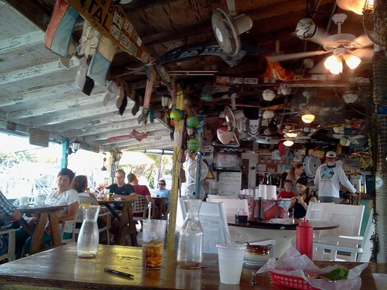 Porky's Bayside - Restaurant and Marina : porkys bayside restuarant is one of our favorite places to visit..