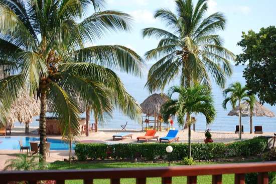 Belizean Dreams: The view from our room
