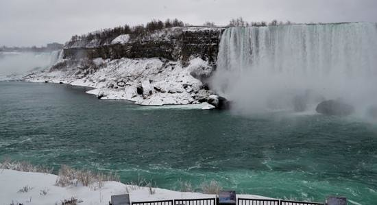 Niagara Falls Marriott Fallsview Hotel & Spa: Great view