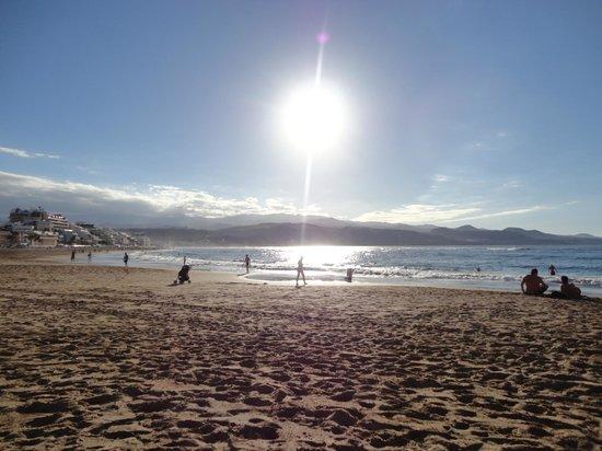 Playa de Las Canteras : playa las canteras