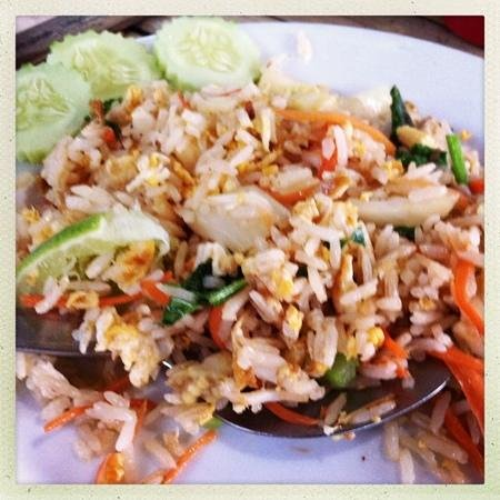 Jakkajan Seafood: Fried Rice with Crab Meat