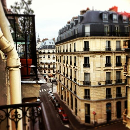 Hotel du Bresil: View from balcony