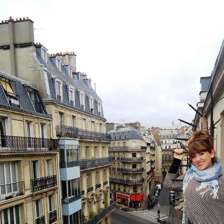 Hotel du Bresil: Our balcony