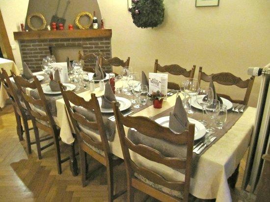 Hotel La Pitchounette : Salle à manger