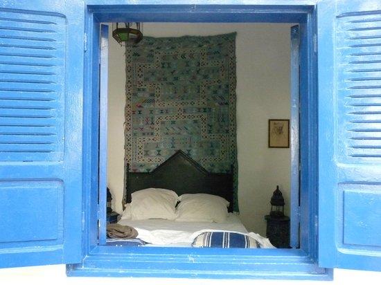 Riad M'Haita : du jardin vers la chambre
