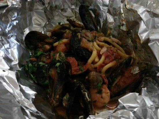 Eat Sicily: pasta al cartoccio