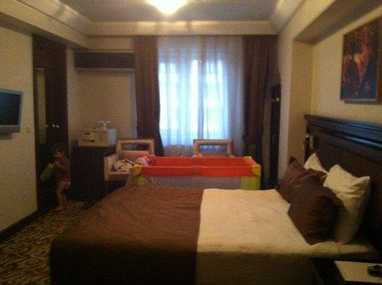 Hotel Mosaic: Chambre