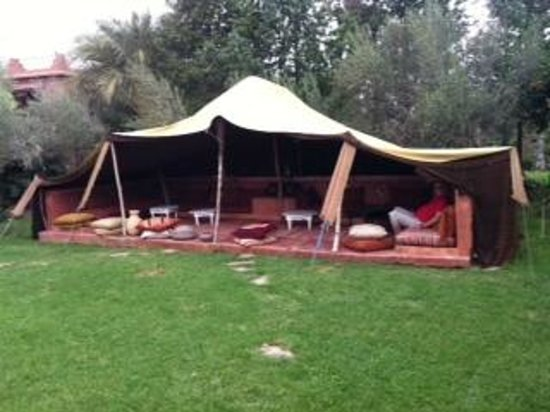 Jnane Leila : Tente berbère