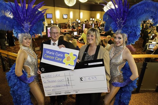 Grosvenor Casino: Marie Curie- Our chosen Charity