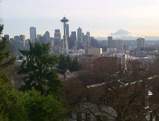 View from Queen Anne Hill - December 2012