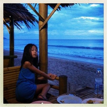 Jakkajan Seafood: View from table later