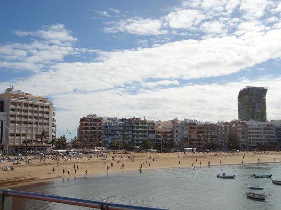 Playa de Las Canteras: playa las canteras