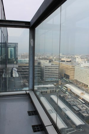 Hotel Granvia Kyoto: View from balocony of guest room